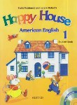 کتاب HAPPY HOUSE AMERICAN ENGLISH 1+CD SB+WB (رهنما)