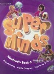کتاب SUPER MINDS 6+CD SB+WB (رحلی/رهنما)