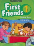 کتاب FIRST FRIENDS AMERICAN ENGLISH 1+CD  SB+WB (رحلی/جنگل)