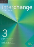 کتاب INTERCHANGE 3+CD EDI 5  SB+WB (رحلی/رهنما)
